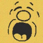Vorlage für Ministeck Smiley16 40x40cm