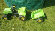 Kindertraktor mit Anhänger