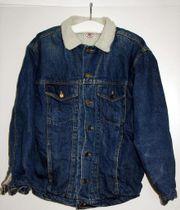 Jeans-Sherpa-Jacke Größe XL von Anvil