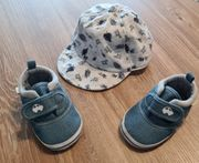 Mütze 41-43cm und Schuhe 12cm