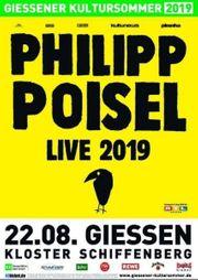 2 Philipp Poisel Karten Gießen