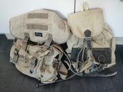 Geräumiger Rucksack aus Segelleinen