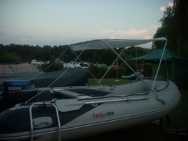 Kanus, Ruder-,Schlauchboote - Schlauchboot Honwave T40 AE mit