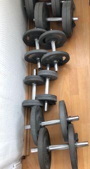 Hantel Set flexibler Bausatz gummierte