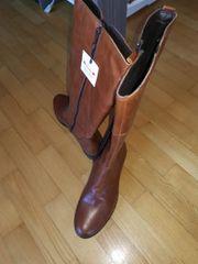 Stiefel Gr 40 mit XL-Shaft