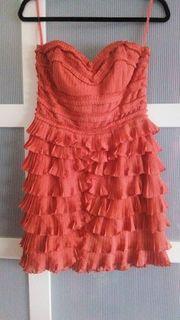 raffiniertes Kleid Abendkleid NEU Gr
