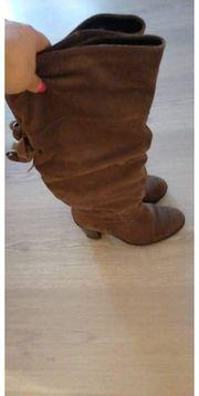 Rauleder Stiefel