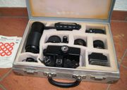 Fotoapparat Aussrüstung Set