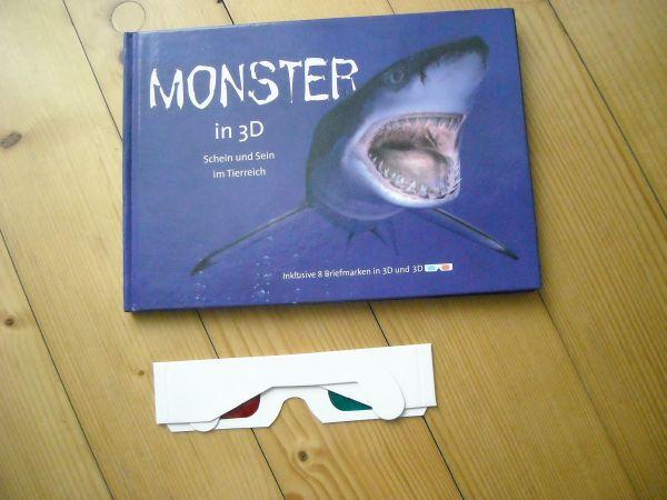 Kinderbuch Monster in 3D
