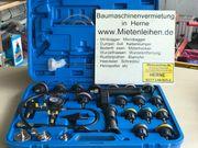 KFZ-Werkzeug Kühlsystemtester Kühlerabdrückgerät mieten leihen