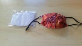 Sonstige Kleidung - Stoffmaske Filterschutzmaske Mund-und Nasenschutz Giraffe