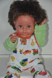 Schildkröt Puppe Babypuppe Trink-Näßbaby