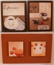 Wandbilder Wandbild Bild Espresso Cafe
