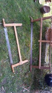 2 Holzsägen