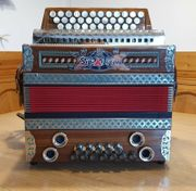Strasser Harmonika 3II Classic Nussrot