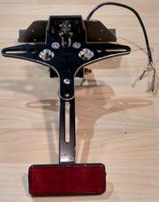 CNC Kennzeichenhalter für KYMCO AK550
