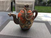 Alte Kaffee oder Tee Porzellan