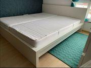 Bett 180 weiss Ikea - Malm