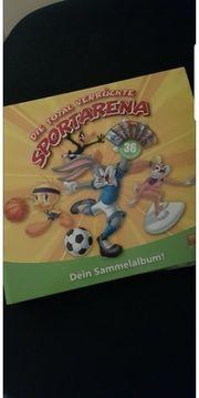Vollständiges Looney Tunes Sammelkartenalbum 2012