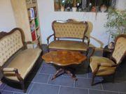 Barockmöbel Sitzgruppe mit Tisch
