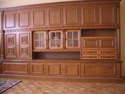 Wohnzimmerschrank Antik echt Holz Eiche