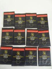 12 Stück Offizielle DFB - Sammelkarten