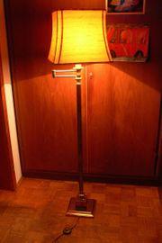 Hübsche Stehlampe schwenkbar Ständer Messing