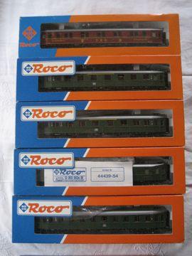 Modelleisenbahnen - 11 Stück Roco HO Eisenbahn