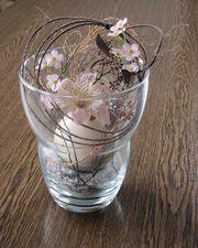 Glasvase Dekorschale Vase Deko Glas