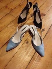 Pumps Riemchen Schuhe von Zara