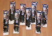NEU - Crochet Haare 2 dunkelbraun -