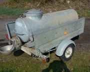 PKW fahrbarer Wasserwagen Wasserfass Metall