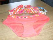 Damen Bügel Bikini pink bunt