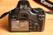 DSLR Digitale Spiegelreflexkamera Canon EOS