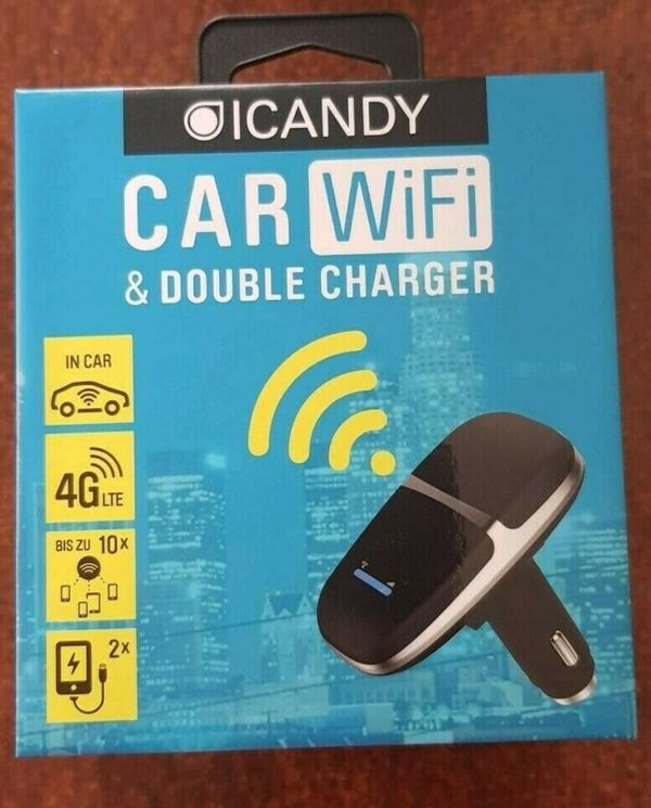 Car WiFi ICandy double charger