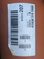 Kanalrohre für Aussenbereich 315mm Nenndurchmesser