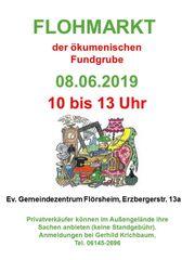 Großer Flohmarkt ev Gemeindezentrum Flörsheim