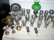 Zinn Messing Sammlung
