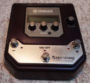 Yamaha Magicstomp programmiert mit den