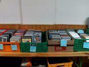 Viele CDs und DVDs abzugeben