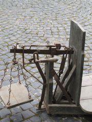 Historische Dezimalwaage aus Opas Scheune