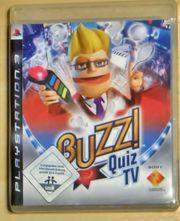 PS3-Spiel BUZZ Quiz TV