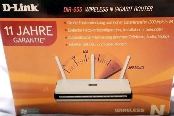 Wlan Router D Link Dir 655