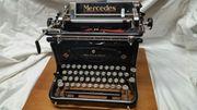 Schreibmaschine mechanisch um 1950 Typ