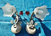 Wandlampe Lampe Florentiner Rosen Stil