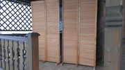 Holz-Trennwand-Paravant