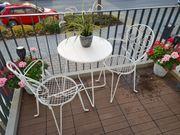 Antike Balkon-Garten Stühle und Tische