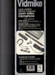 Camera-Mikrofon Yoga super zoom Vidmike