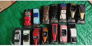 Sammler Auto s 14 Stück