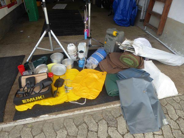 Campingzubehör gebraucht zu verkaufen